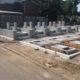 墓地造成工事